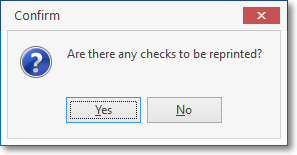 HelpFilesAreThereAnyChecksToBeReprintedMessage