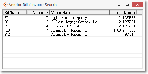 HelpFilesSearchInvoiceSearchBillInvoiceSearchForm