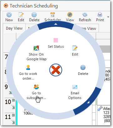 HelpFilesTechnicianScheduling-DayView-Appointment-Options