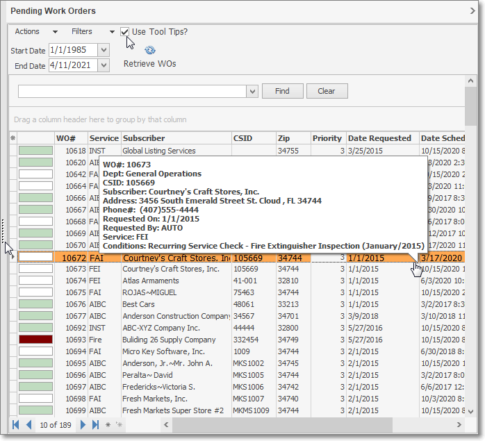 service tracking system stark version 5 1 35 xxxx service tracking