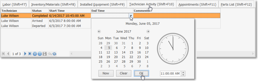 HelpFilesWorkOrderInvoicingAndReview-TechnicianActivityTab-DateSelection